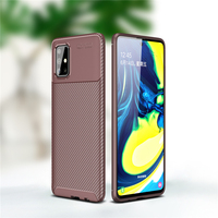 case samsung galaxy For Samsung Galaxy A71 Case Business Style Silicone Shell Back Phone Cover For Galaxy A71 Protective Case For Samsung A71 A715F (4)