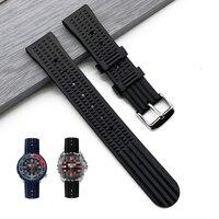Premium Grade Waffel Uhr Band Quick Release Gummi Armband 20mm 22mm Huawei Samsung Garmin Uhr Ersatz Uhrenarmbänder