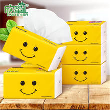 1 bag Home Pumping Towels Tissue Paper Napkins 3 Layers 300 Sheets Of Natural Wood Pulp Household Toilet Paper Towels Wholesale