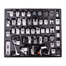 11/32/48/52/62pcs Sewing Machine Supplies Presser Foot Feet for Sewing Machines Feet Kit Set With Box For Brother Singer
