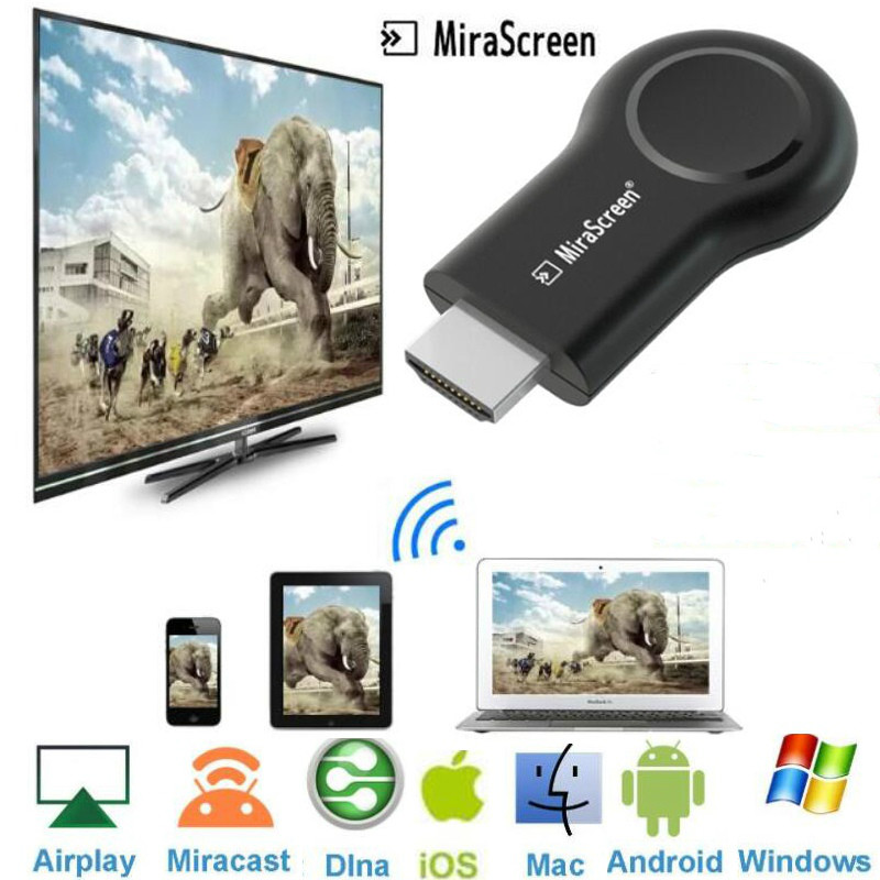 2020 Wireless HDMI TV Stick Wifi Display Dongle Anycast Miracast DLNA AirPlay Mirror Screen Receiver for IOS Android Mac Windows