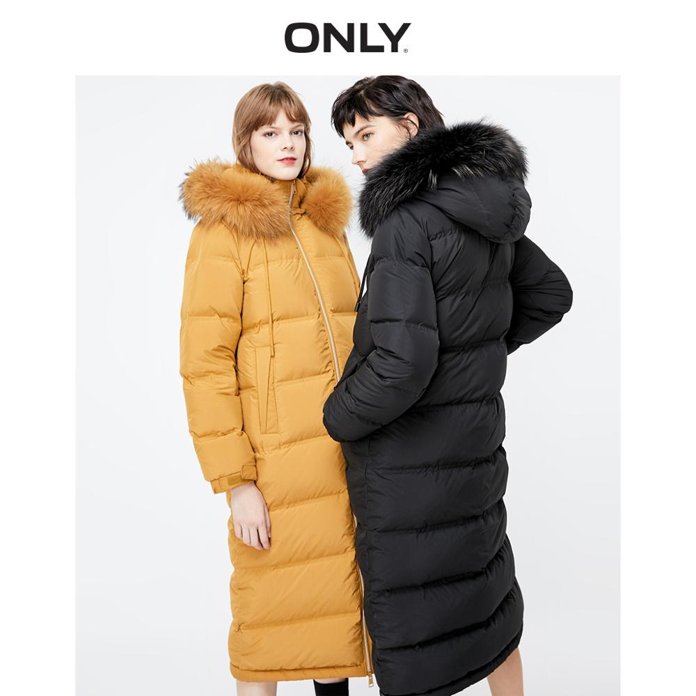 ONLY Women's Long Thin 90% Down Jacket | 119312508