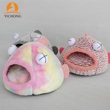 Tent Cat's-House Nest Winter New Warm Autumn Eye Big YH203 YICHONG Sponge Dog's Fish-Shape