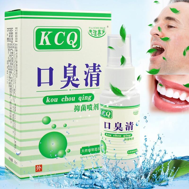 Grass Oral Spray Deodorant Breath Freshener Improve Mouth Breath Odor Fresh Spray H7JP