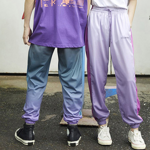 Image 5 - 2020 Hip Hop Joggers Pants Gradient Color Streetwear Men Harajuku Sweatpants Casual Autumn Track Pant Soft HipHop Harem Trousers