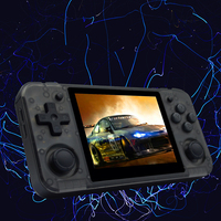 RG350P Handheld Game Console with 32G TF card 3.5Inch IPS Screen HDMI Output Handheld Video Game Player 10000+ Games DDR2 512M