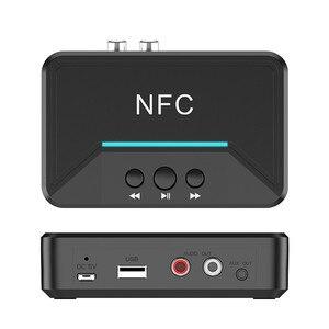 Image 2 - חם BT200 Bluetooth 5.0 אודיו מקלט NFC 3.5mm AUX RCA שקע Hifi אלחוטי מתאם אוטומטי לרכב אלחוטי אוטומטי מתאם