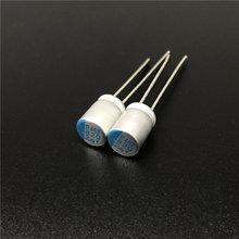 10 قطعة 820 فائق التوهج 2.5 فولت NCC PSE series res 6.3x8 مللي متر سوبر منخفضة ESR 2.5V820uF ل اللوحة VGA الصلبة المكثفات
