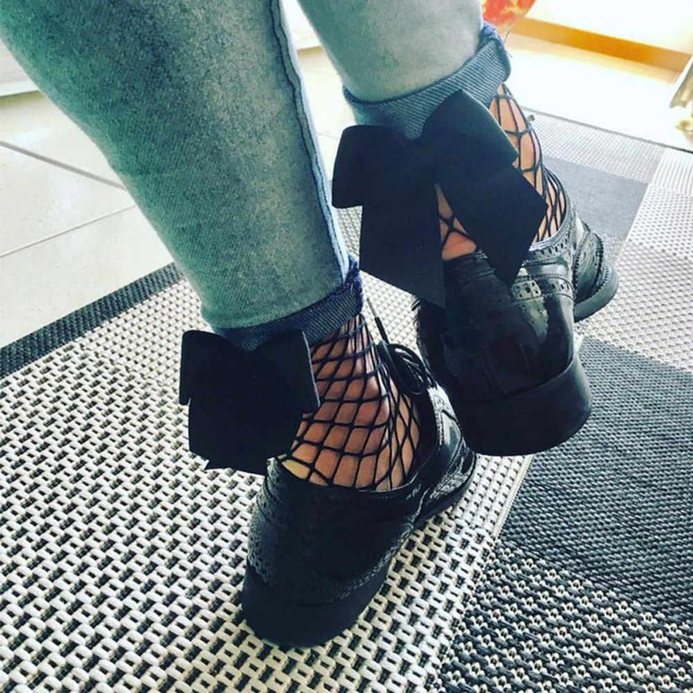 เซ็กซี่น่ารักตาข่าย Fishnet สาวข้อเท้าถุงเท้าสตรี Ruffle Fishnet สูง Hollow ผู้หญิงถุงเท้าข้อเท้าตาข่ายลูกไม้สุทธิสั้นอะนิเมะถุงเท้า