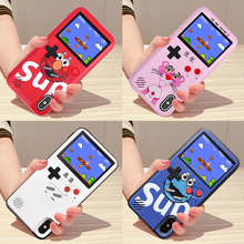 For iPhone X XS Max XR Color Display 36 Classic Game Phone Case For iPhone 6 7 8 Plus 11 Pro Max Console Game boy Soft Cover transparent shockproof phone case for iphone 7 8 6 6s plus case back cover for iphone 11 pro max case for iphone x xs max xr