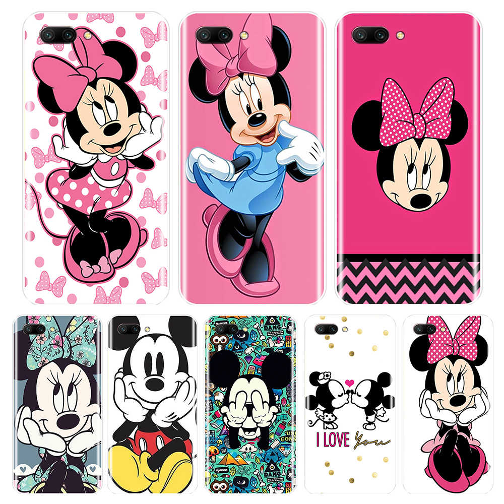 Silicone Case For Huawei Honor 7 8 9 10 LITE Soft TPU Cover Mickey Minnie For Honor 8X MAX 10 9 8 7 7S 7X 7A 7C Pro Phone Case
