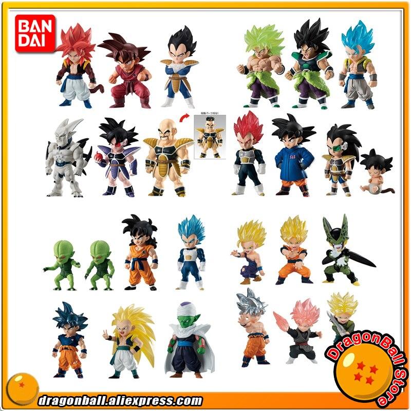 Dragon Ball Super Original BANDAI ADVERGE Collection Figure    Broly Raditz Cell Nappa Turles Vegeta Goku Gogeta Piccolo YamchaAction