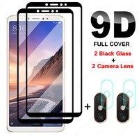 4in1 Voll Gehärtetem Glas für Xiaomi Mi 9 9T Pro Lite Mi 9 SE Kamera Screen Protector Für Mi max 2 3 Mix 2 3 2S Schutz Glas