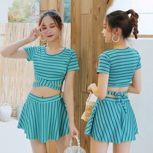 women clothes sexy two pieces set solid tight 2 pieces set women Shorts sleeve top and skirt summer sets conjunto femenino cheap Above Knee Mini O-Neck Elastic Waist Polyester Pullover Sweet REGULAR NONE Swimwear