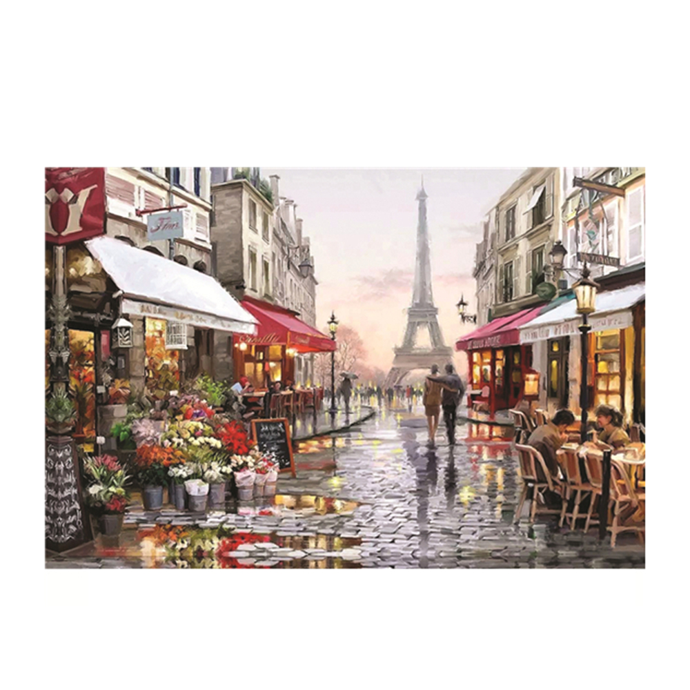 European Cities Scenery Entertainment Puzzle 1000 Pieces Jigsaw 15*10 Inch Parent-child Game For Children Birthday Christmas
