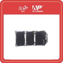 ALLPOWERS החדש 21W פנל סולארי תאים סולריים כפול USB שמש מטען סוללות טלפון טעינה עבור Sony טלפון iPad