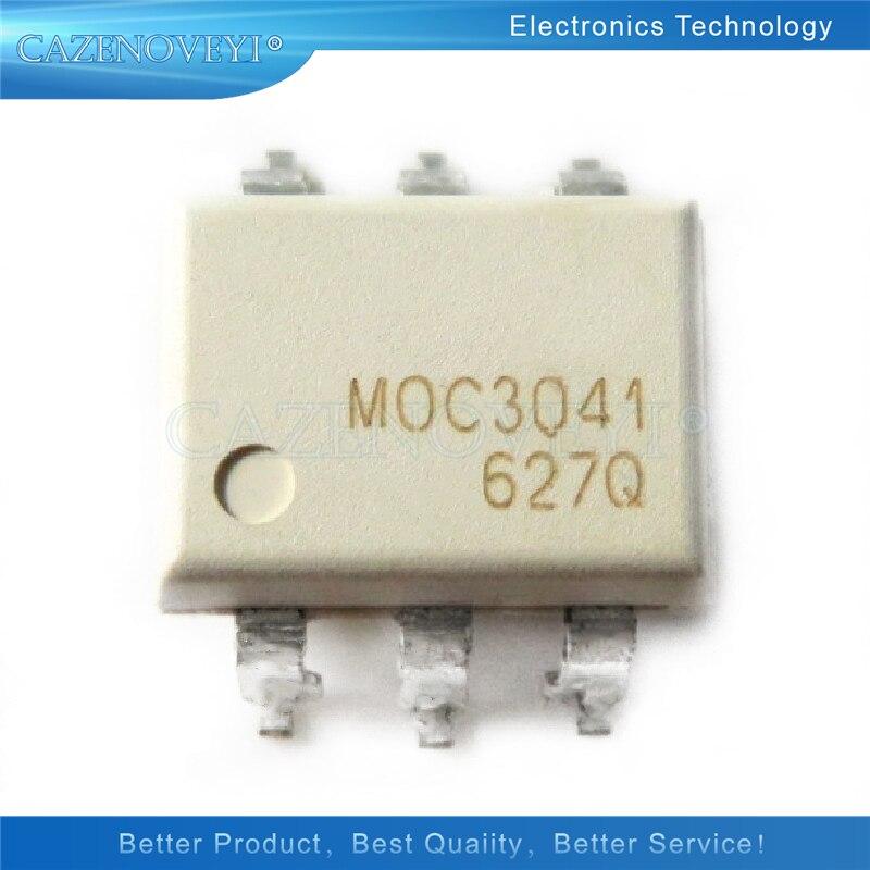 10 шт./лот MOC3021 MOC3023 MOC3041 MOC3042 MOC3052 MOC3062 MOC3063 SMD-6