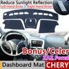Per Chery Molto Celer Fulwin 2 Tempesta Bonus ZAZ Forza MVM 315 Tappetini anti scivolo Cruscotto Rilievo Copertura Parasole Dash Zerbino Auto accessori|Adesivi per auto|   -
