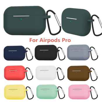 top selling in 2020 Silicone Protective Skin Cover For Pro 2019 Wireless Charging Case Support Wholesale and Dropshipping image