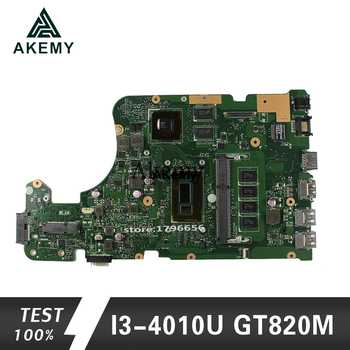 Akemy X555LD Laptop motherboard for ASUS X555LD X555LP X555LA X555L X555 Test onboard mainboard 4G RAM I3-4010U GT820M - DISCOUNT ITEM  8% OFF All Category