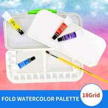 1 шт 18 складных пластиковых цветов для рисования