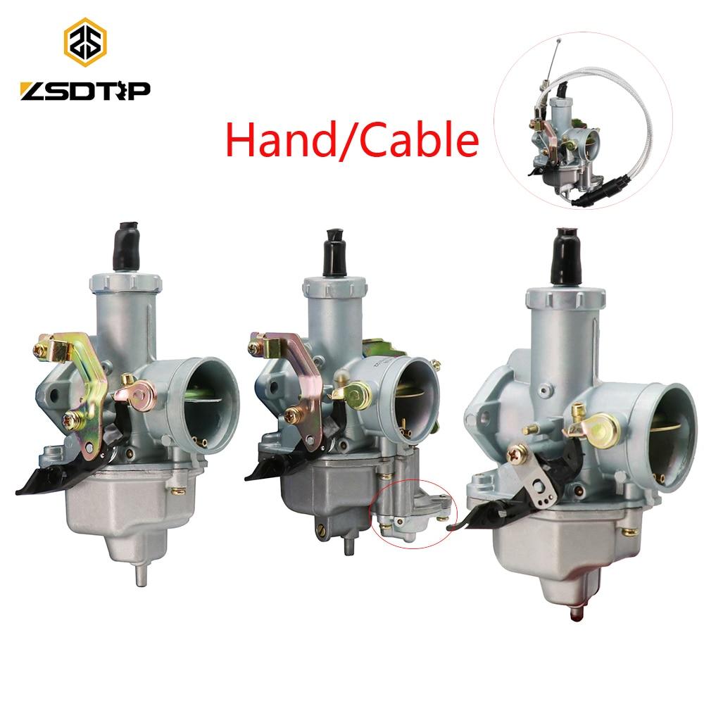 Карбюратор ZSDTRP PZ30 + кабель для карбюратора Keihin TTR250 PZ30 175CC/200CC/250CC Hand/Cable PZ30 VM26