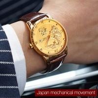 2020 Top Marke herren Uhr Hohe Qualität Japan Mechanische Bewegung Wasserdichte Drache Glück Business Casual Männlichen Uhr Geschenk 9041P|Mechanische Uhren|   -