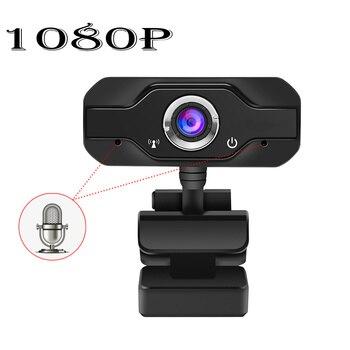 HD Webcam Built-in Microphone Smart 1080P Web Camera USB Pro Stream Camera for Desktop Laptops PC Game Cam For Mac OS Windows