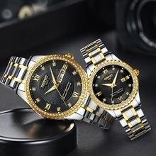Часы для влюбленных nibosi Роскошные Кварцевые наручные часы