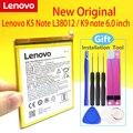 Новый оригинальный BL287 батареи для Lenovo K5 Примечание 2018 / K9 Примечание 6,0 дюймов L38012 3760 мАч батарея мобильный телефон + подарок