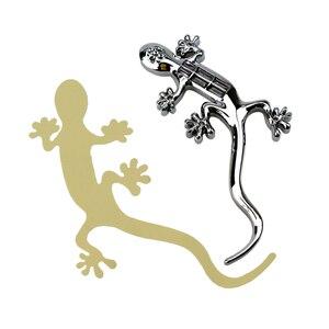 Image 5 - Gecko 8 LED Solar Power Alarm Warnung Licht Auto Aufkleber Dekoration Lampe für Motorrad Autos Auto Styling CF