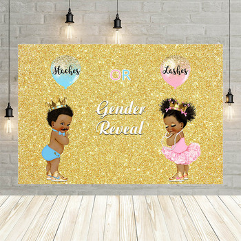 Avezano Boy Girl Newborn Balloon Crown Golden Baby Shower Birthday Decor Backdrop Photo Background Custom Photography Studio - discount item  44% OFF Camera & Photo