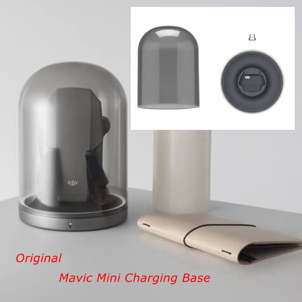 Mavic Mini Battery Charging Base Portable Charger For DJI Mavic Mini Drone Battery Accessories Bell Jar Magnetic Micro USB Part
