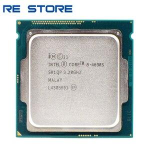 Image 1 - Б/у четырехъядерный процессор Intel Core i5 4690S 3,2 ГГц 6 м 65 Вт LGA 1150