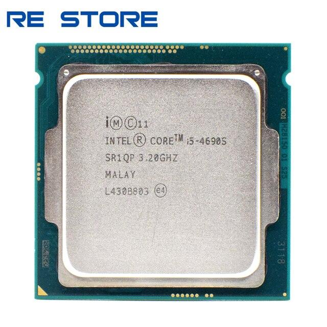 Б/у четырехъядерный процессор Intel Core i5 4690S 3,2 ГГц 6 м 65 Вт LGA 1150