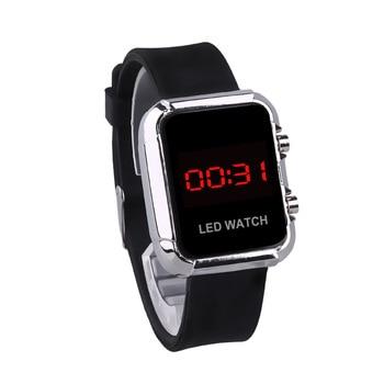 цена Digital Women Watches LED Sports Watch Digital Women Wrist Watch Ladies Digital LED Watches for Women Relogio Digital Feminino онлайн в 2017 году