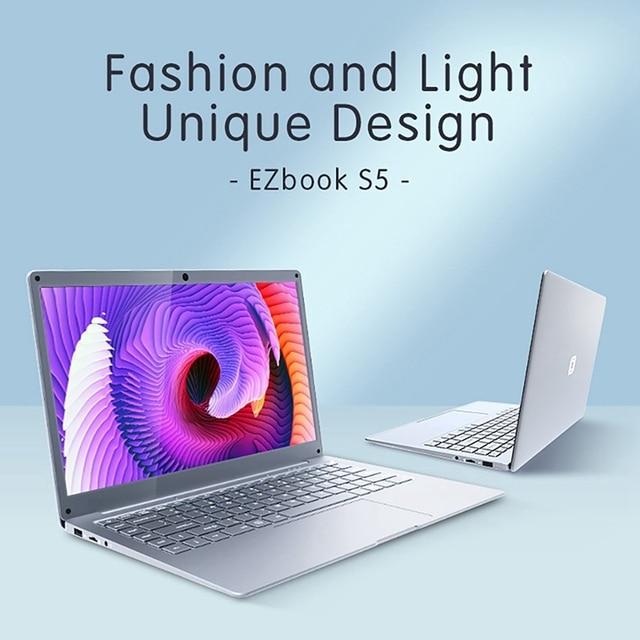 Jumper EZbook S5 14.0 Inch Laptop Apollo N3350 6GB DDR4L+64GB eMMC Windows 10 1920*1080 FHD Ultrathin Notebook 2