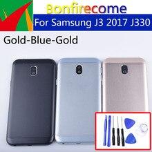 Originele Voor Samsung Galaxy J3 2017 J330 J330F SM J330F Behuizing Batterij Cover Back Cover Case Deur Achter Chassis Shell