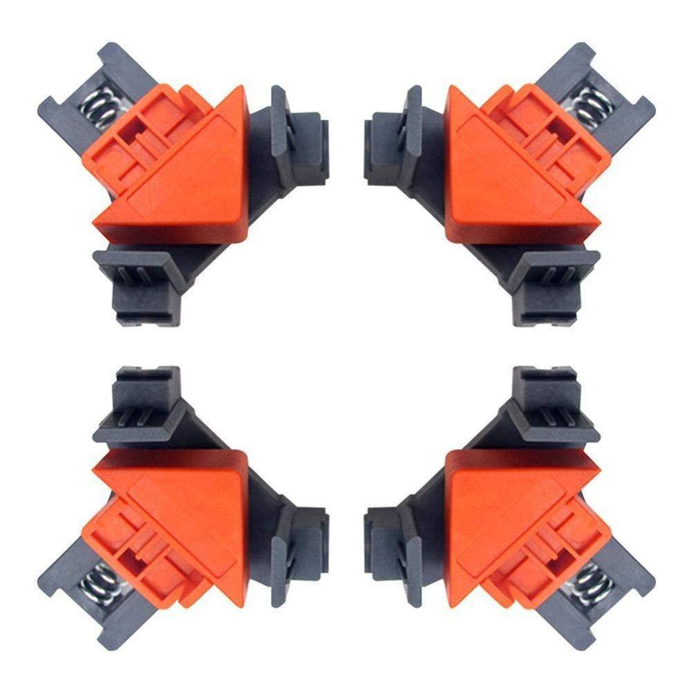 4pcs/lot 90 ° Home Cabinet Right Angle Fixed Punch Installer 90 Degree Right Angle Clip Frame Clip  DB118