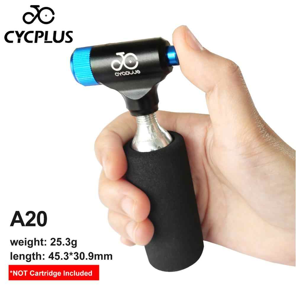 Berrywho CO2 para inflar los neum/áticos de Bicicletas de la Bomba Mini Bomba de Mano para Bicicletas de Carretera de monta/ña