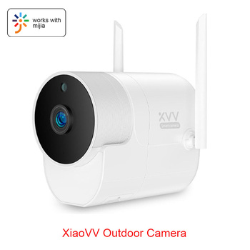 Xiaovv Outdoor Panoramic Camera 360 IP 1080P HD Surveillance Cam Wireless WIFI High-definition 8 Night vision With Mijia APP