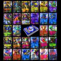 TAKARA TOMY 60 pièces 13 MEGA 47EX brillant cartes jeu bataille Carte Trading enfants Pokemon Carte jouet