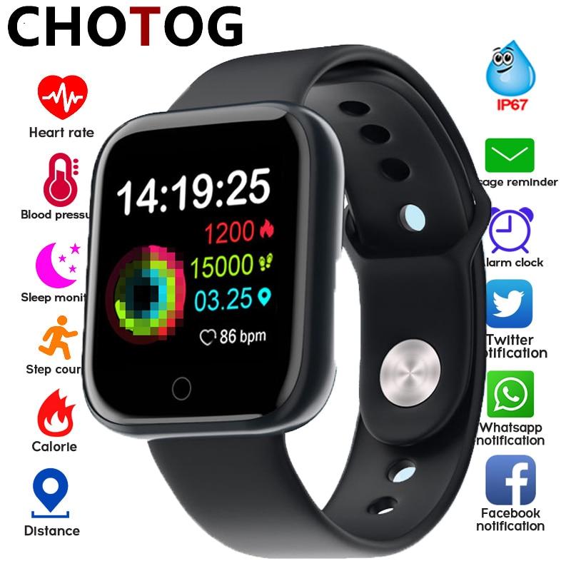 Smart Watch Men Women Heart Rate Tracker Smartwatch Blood Pressure Oxygen Monitor Push Message Sport Fitness Tracker Smart Watch