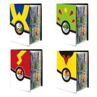 Pokemon Pikachu Charizard-Libro de cartas, libro de monstruo de bolsillo, almacenamiento de tarjetas, juguete de dibujo animado de animé, juego de tarjeta de colección, soporte para juguetes para niños