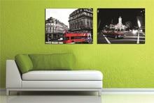 European Architecture France Paris Landscape Picture Wallpaper Canvas Material Art Painting Suitable for Cafes and Bars