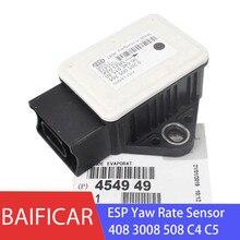 Baifar подлинный датчик скорости ESP Yaw датчик ускорения положения 454949 для peugeot 408 3008 508 Citroen C4 C5