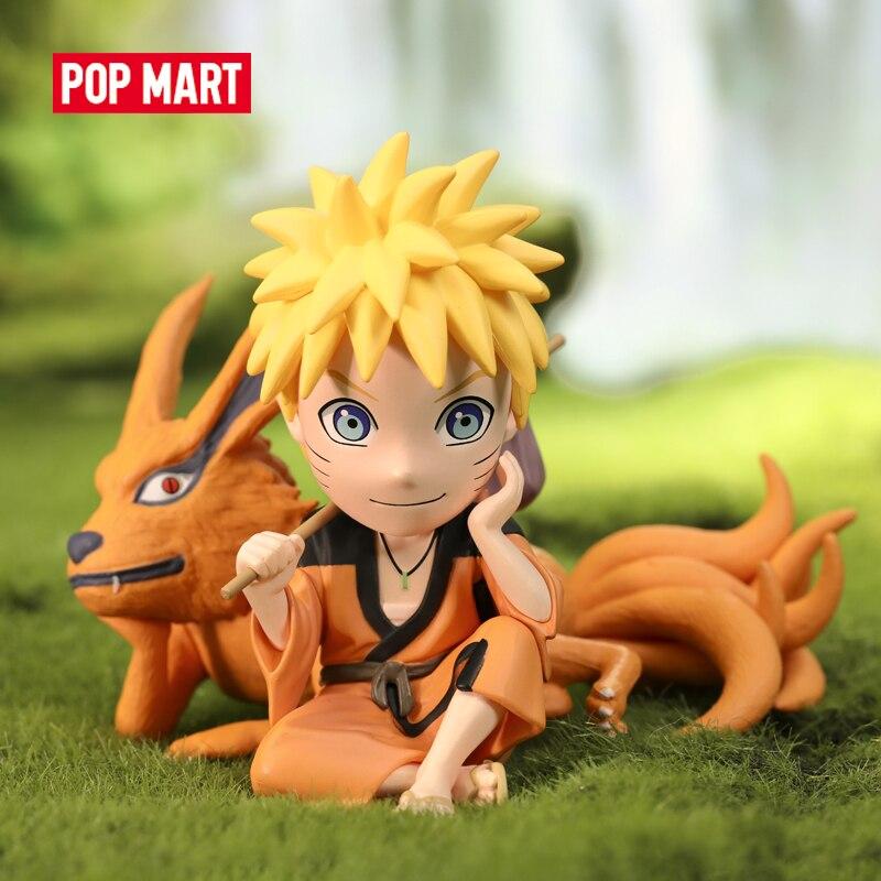 POP MART-caja ciega de la serie Naruta shippuden, juguete coleccionable Kawaii de regalo de figura Chico, envío gratis