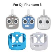 Per DJI Phantom 3 Standard SE 3 S macchina fotografica Drone Accessori Remote Controller Custodia In Silicone Protettiva Della copertura Della Pelle Anti Slip anti schiacciare