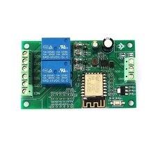DC 5V/8 80V ESP8266 Dual Channel WIFIรีเลย์โมดูลESP 12F Development BoardสำหรับIOT Smartโทรศัพท์บ้านAPP Controller 12V