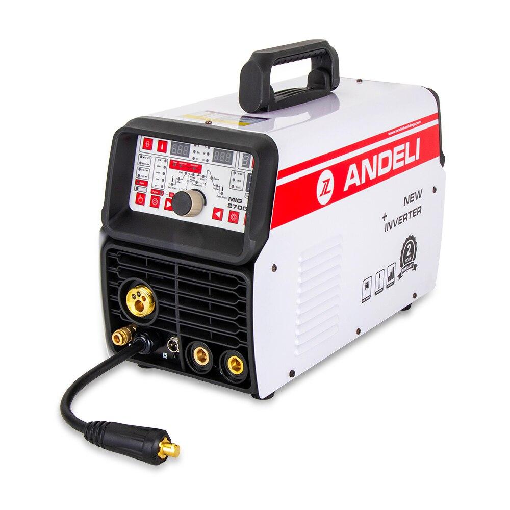 Andeli Multifunctionele Lasmachine Mig Tig Pulse Mma En Koude Lassen 4 In 1 Multifunctionele Koud Lassen Machine